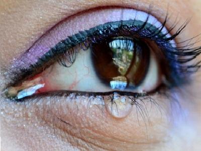 Hoofdpijn achter het oog